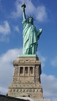Statue Of Liberty, Sculpture, Monument, Landmark, Nyc