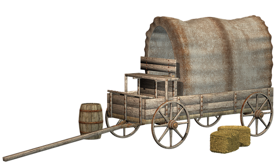 Wagon, Ranch, Old, Western, Antique, The West, Vintage