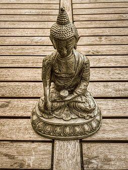 Buddha, Statue, Figurine, Meditation, Tibet, Yoga