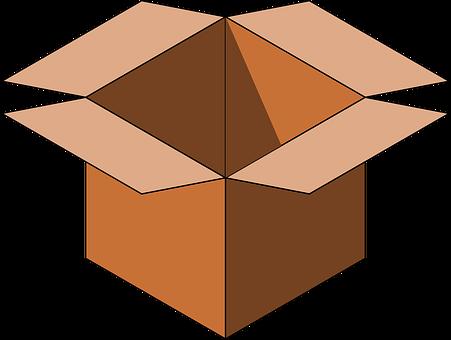 Cartoon Box, Cardboard Box, Box, Carton, Shipping