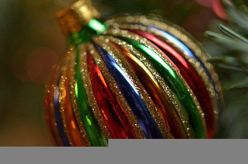 Christmas Ball, Ornament, Decoration, Decor, Sphere