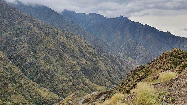 Mountains, Mountain Range, Landscape, Nature
