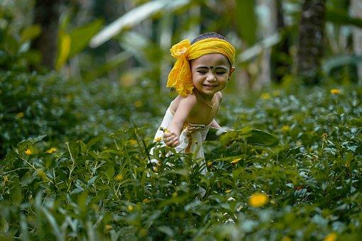 Malayali, Child, Kid, Little Girl, Cute Child, Cute Kid