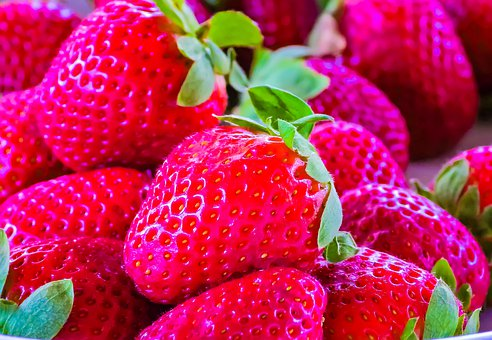 Strawberry, Fruit, Red, Delicious, Nutrition, Berries