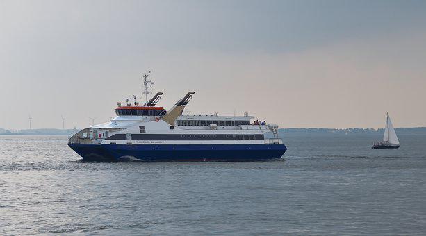 Ferry, Boat, Ship, Passenger Ship, Transport