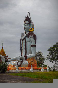 Lord Shiva, Statue, Religious Statue, Monument