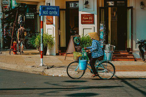 Street, Bicycle, Bike, City, Road, Vintage, Urban