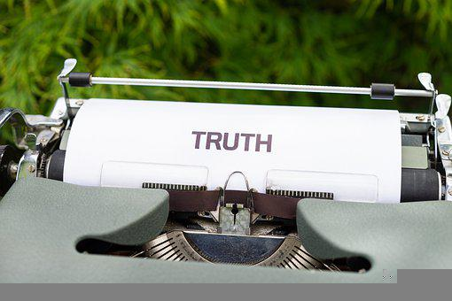 Typewriter, Truth, Conspiracy, Secret, Book, Learn