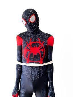 Spider-man, Captured, Tied, Zentai Suit, Cosplay
