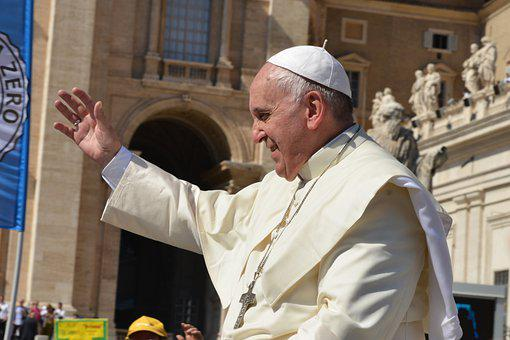 Pope, Pope Francis, Pontiff, Catholic Church Head, Man