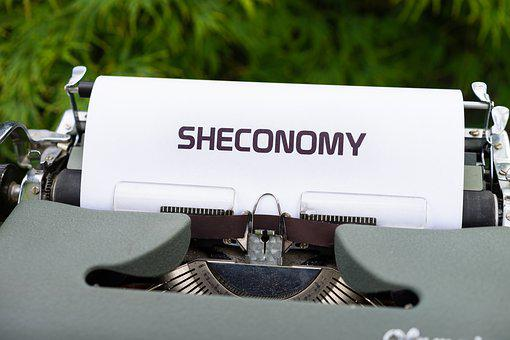 Typewriter, Sheconomy, Women Empowerment, Feminist