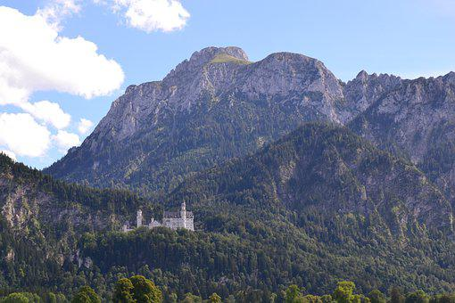 Castle, Kristin, Bavaria, Fairy Tale Castle, Germany