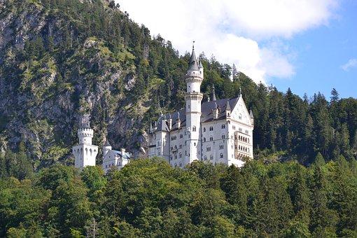 Castle, Kristin, Neuschwanstein Castle, Füssen, Allgäu