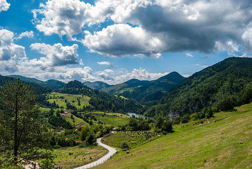 Tara Mountain, Mountains, Panorama, Nature, Forest