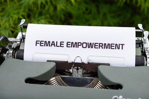 Typewriter, Female Empowerment, Women Empowerment