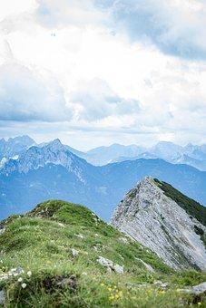 Mountains, Hiking, Alpine, Adventure, View, Panorama