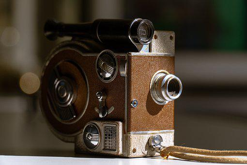 Camera, Analogue, Lenses, Vintage, Old, Retro, Antique