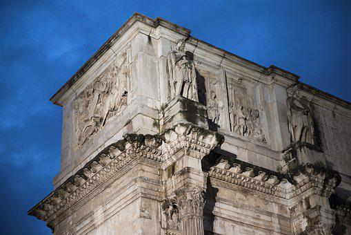 Monument, Building, Ancient, Arch, Architecture, Rome