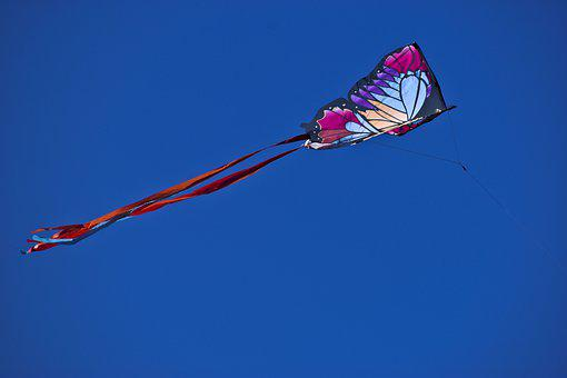 Kite, Flying, Colorful, Freedom, Sky