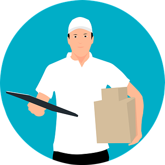 Courier, Delivery, Service, Package, Express, Shipping