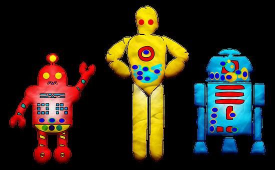 Play Doh Robots, Clay Robot, Robot, Play Dough Robot