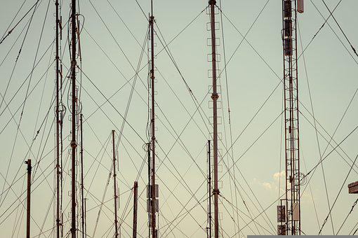 Transmission Tower, Connection, Network, Reception