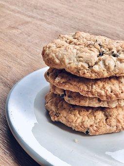 Cookies, Dessert, Snack, Treat, Bakery, Homemade