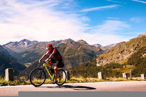 Bicycle, Bike, Cyclist, Cycling, Sport, Mountains