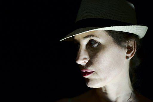 Woman, Model, Dark, Gothic, Mysterious, Secret, Female