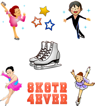 Ice Skating, Figure Skating, Boy Skating, Girl Skater