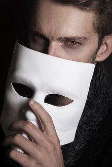 Vampire, Mask, Man, Mysterious, Horror, Halloween