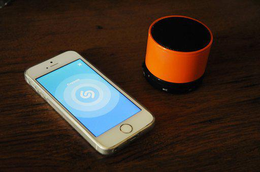 Phone, Mobile, Smartphone, App, Shazam