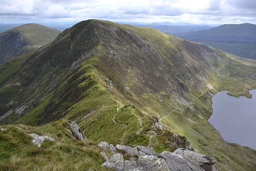 Mountains, Ridge, Mountain Range, Mountain Ridge