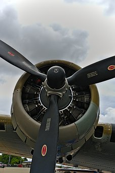 Aircraft, Propeller, Flying, Aviation, Technology