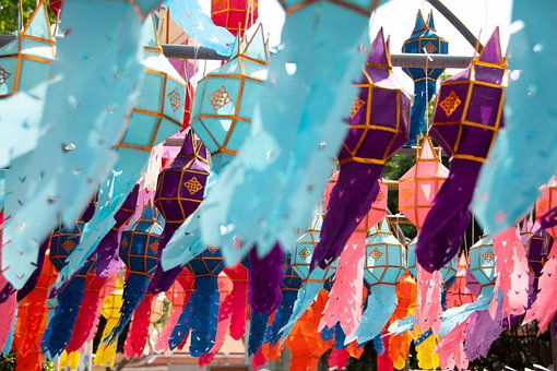 Lanterns, Religion, Spring Festival, New Year's Day
