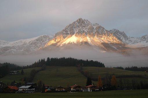 Berg, Tirol, Abendsonne, Mountain, Mountain Range, Alps