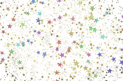 Star, Pattern, Abstract, Background, Starry Sky