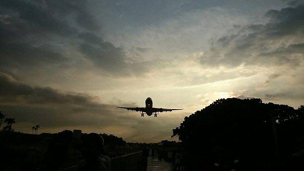 Aircraft, Airplane, Passenger Plane, Takeoff, Runway