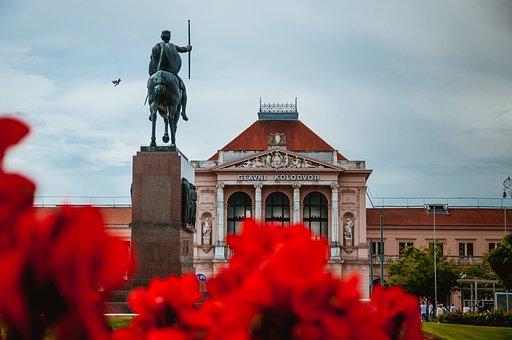 Zagreb, Building, Architecture, Croatia, City, Europe