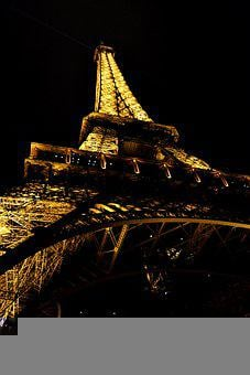 Eiffel Tower, France, Architecture, City, Tower