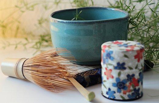 Bamboo Whisk, Chasen, Matcha Tea, Bamboo Tea Scoop