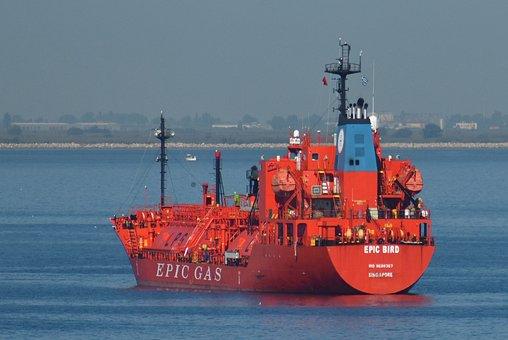 Ship, Vessel, Boat, Cargo, Transport, Gas, Sea, Ocean