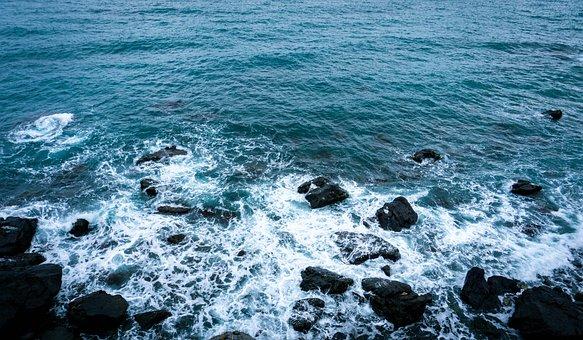 Korea, Busan, Travel, Ocean Views, Busan Sea, Landscape