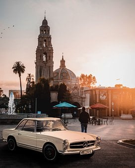 Car, Vehicle, Automobile, Church, Cathedral, Building