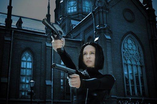 Gothic, Woman, Actress, Cosplay, A Vampire, Fantasy