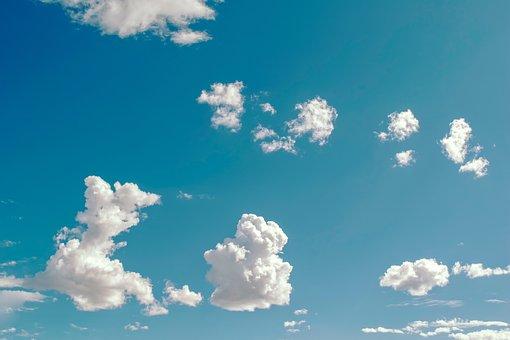 Sky, Clouds, Forms, Air, Atmosphere, Cumulus