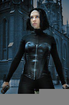 Woman, Actress, Cosplay, Corsette, Vampire, Gothic