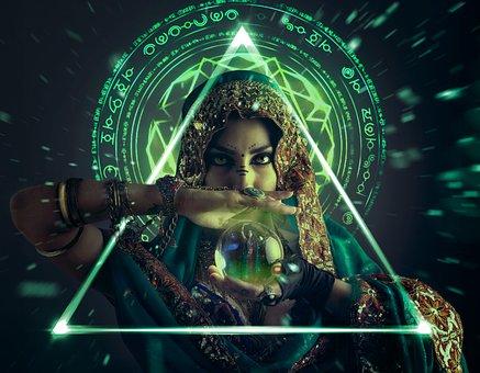 Gypsy, Talisman, Illusion, Creative, Creativity