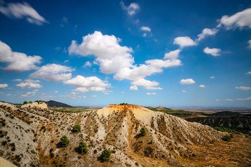 Landscape, Barrancos De Gebas, Badlands