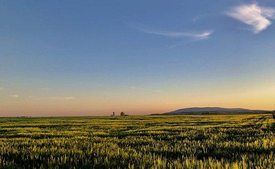 Landscape, Mountains, Fields, Plains, Meadow, Nature
